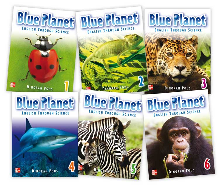 Book Design - Education Blue Planet