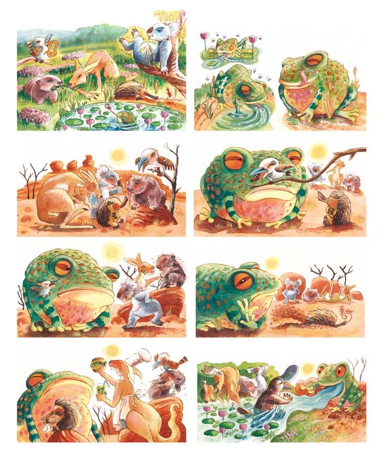 Peter Shaw folio website - Illustration - Education